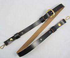 TRACOLLA Sam Brown stile per la guerra civile WESTERN Pistola Cintura Nera R1658
