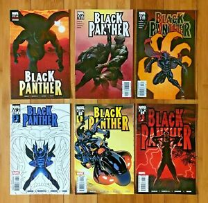 BLACK PANTHER #1 #2 #3 #4 #5 #6 Marvel - 1st appearance of SHURI 2005