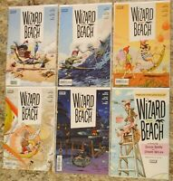 Wizard Beach Boom Comics #1-5 with 1:10 Variant of #1 Complete Set