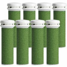 8-pack Xtreme Coarse Pedicure Refill Rollers Comp. with Emjoi Callus Remover