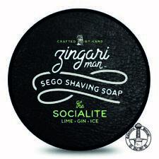 ZINGARI MAN sapone da barba THE SOCIALITE shaving soap 142ml lime gin tonic ice