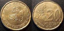 Monaco - Rainier III - 20 cent euro 2002 JOLIE !
