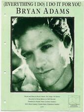 Bryan Adams (Everything I Do) I Do It For Sheet Music