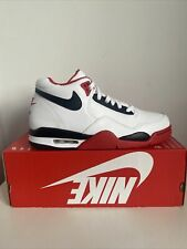Men's Nike Air Flight Legacy Trainers Size 8 UK White Black Red Brand New
