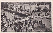 # MILANO: ESPOSIZIONE  1928- SFILATA DI BUOI CONCORSI ZOOTECNICI