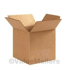 100 6x6x6 Cardboard Shipping Boxes Cartons Packing Moving Mailing Box