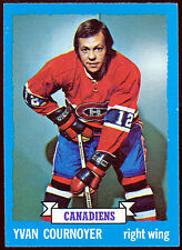 1973-74 TOPPS #157 YVAN COURNOYER NM MONTREAL CANADIENS HOCKEY