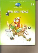 DISNEY LITERATURE CLASSICS 21 - WAR AND PEACE BOOK