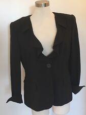 Vintage Giorgio Armani Women's Jacket - Authentic !! Size XXL Black