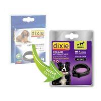Collar Antiparasitario Perros Anti Pulgas y Garrapatas Dixie (58 cm) Negro
