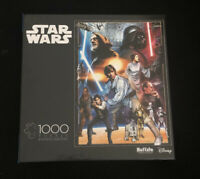 """New! Disney (Star Wars) """"You'll Find I'm Full of Surprises"""" 1000 Piece Puzzle."""