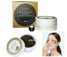 Petitfee Black Pearl & Gold Hydrogel Eye Patch 30pairs - Free sample & shipping