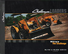AGCO Challenger ML70B and ML90B Front-end Tractor Loaders Brochure Leaflet