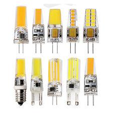 Bright G4 G9 E14 3W 4W 6W 8W Silicone Crystal SMD/COB LED Bulb Spot Lights Lamp