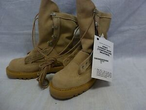 Rocky GORE-TEX Temperate COLD/WET BOOTS 4.5 R New Tan Combat 790G #104