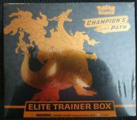 Pokemon Champions Path Sealed Elite Trainer Box ETB TCG Charizard Free Shipping
