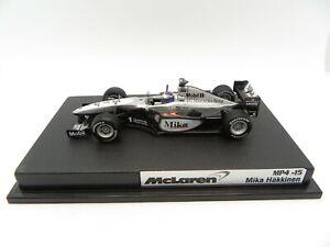Mclaren Mercedes MP4-15 Mika Hakkinen #1 2000 Hotwheels 1/43 F1 Formula 1