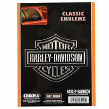 Original Harley Davidson HD Classic Logo Emblem Aufkleber Decal Sticker Chrom