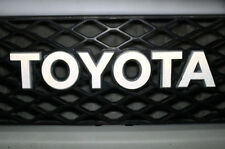 Vinyl Decal Wrap Kit for 07-14 Toyota FJ Cruiser Grille Letters REFLECTIVE WHITE