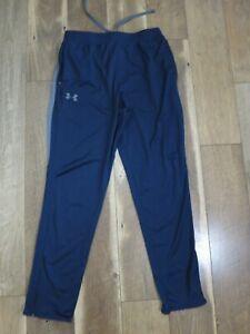 Under Armour 1280765 Men's Blue/Gray Polyester Maverick Tapered Pants Sz L