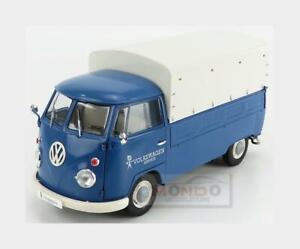 Volkswagen T1 Pick-Up Volkswagen Service Closed 1950 Blue SOLIDO 1:18 SL1806702