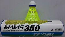 Yonex MAVIS 350 Medium Speed Badminton Shuttlecock Blue White Yellow M-350CP