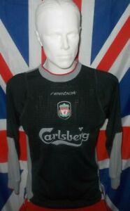 Vintage Original Liverpool Goalkeeper Shirt 2002-2003 (XS)