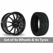2 Team Dynamics Aluminium Wheels with Tyres