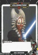 Orli Shoshan Official Pix Star Wars Autograph Trading Card Celebration V Exc