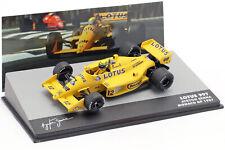Ayrton Senna Lotus 99T #12 Ganador Monaco Gp Fórmula 1 1987 1:43 Altaya