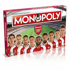 Football Arsenal FC 17/18 Edition Monopoly Game Board By Winning Moves - New