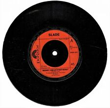 "SLADE Merry Xmas Everybody / Don't Blame Me  45rpm 7"" Vinyl Single 2058422 J18"