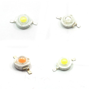 High Power SMD LED Chip 1W / 3W / 5W COB Lamp Beads Different Colors