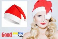 Christmas Party Baby Adult Santa Hat Red And White Xmas Cap for Santa Claus