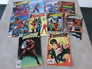 Daredevil Comic Lot # 193 194 195 196 197 198 199 200 201 202 VF/NM Unread 1983
