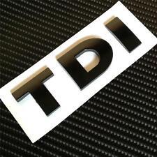 BLACK TDI Badge For VW GOLF POLO PASSAT SCIROCCO  MK4 MK5 MK6 TDI GT GTD **NEW**