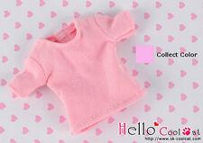 ☆╮Cool Cat╭☆68.【NS-47】Blythe Pullip T-Shirt # Honey Pink