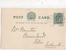 Mrs Brunton Broomlands Kelso 1903  980a