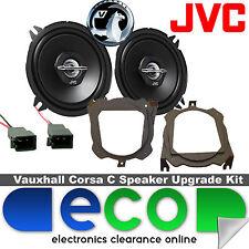 "Vauxhall Corsa C 2000-06 JVC 5.25"" 500 Watts Rear Hatch Car Speaker Kit & Wires"