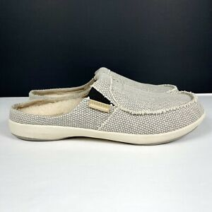 Gecko Man Men's Size 10.5 Casual Slip On Arch Support Slipper Shoes