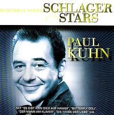 "SCHLAGER & Stars Paul Kuhn "" 27 Tracks CD New & orig. Box Electrola EMI 2004"