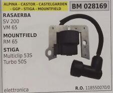 118550070 BOBINA RASAERBA MOUNTFIELD RM65 STIGA MULTICLIP 53S TURBO 50S