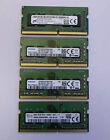 LOT Hynix/Micron/Samsung/Kingston 8GB 1Rx8 PC4-2400T Laptop RAM (Qty 4)