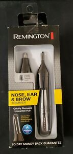 REMINGTON Nose Ear & Brow Dual Head Trimmer NE3560 Battery Operated Open Box