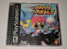 Speed Punks (Sony PlayStation 1, 2000) Black Label Complete