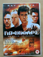 No Escape DVD 1994 Sci-Fi Futuristic Prison Island Thriller Movie w/ Ray Liotta