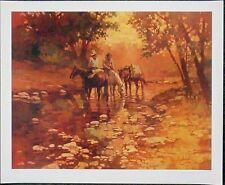 Ray Burdzinski Trail Riders Cowboy Horses Art Print Limited Edition