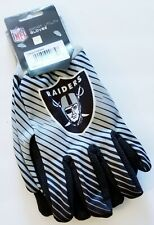 Oakland Raiders NFL Sport Utility Glove 2 tone Stripe New Design NFL Licensed
