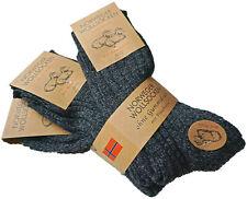 3 Paar warme Wollsocken 80% Wolle Norweger dicke Socken Gr. 39-42 43-46