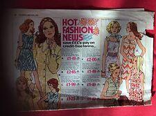 m2c ephemera 1972 advert marshall yard hot fashion news folded